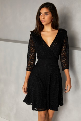 65cfec29f7a34 Buy Mela London Long Sleeve Lace Dress from the Next UK online shop