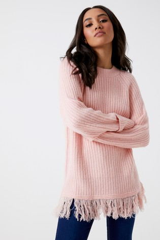 Buy Vero Moda Petite Long Sleeve O-neck Jumper from Next Ireland 649d0047ca