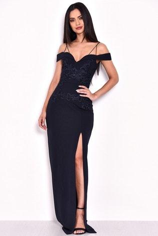 8781b947e888b0 Buy AX Paris Bardot Maxi Dress from Next Kuwait