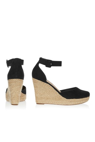 d550d333962 Buy Lipsy Closed Ankle Strap Espadrille Wedges from Next Ireland