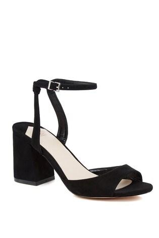d7b08000dcb Faith Block Heel Sandals
