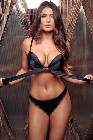 34631584e377d Buy Pour Moi All Wrapped Up Front Fastening Bow Padded Bra from the ...