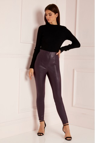 859630305cf128 Buy Abbey Clancy x Lipsy Faux Leather Trousers from the Next UK ...