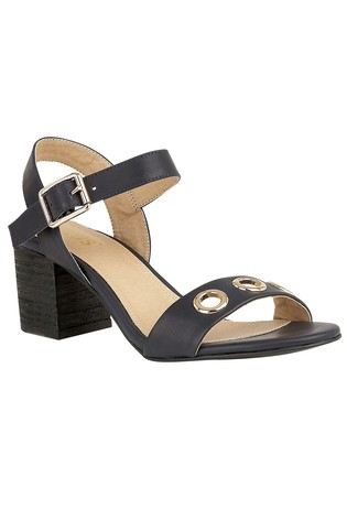 86eba2b1318 Lotus Block Heel Sandals