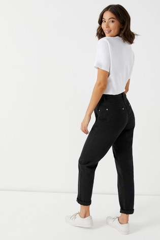 cf75337a82c98 Buy Boohoo Exposed Button Straight Leg Jeans from the Next UK online ...