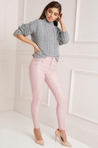 440e15688222f4 Buy Lipsy Kate High Rise Skinny Coated Regular Length Jeans from ...