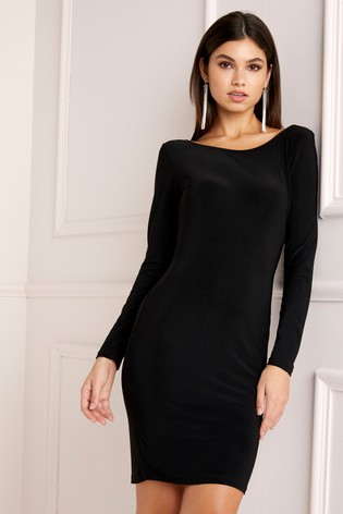 5bfb9cb9de4 Lipsy Cowl Back Bodycon Dress From The Next Uk