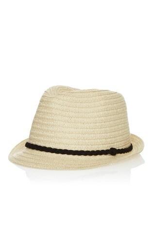 06ac5c6f642 Lipsy Straw Trilby Ribbon Band Hat