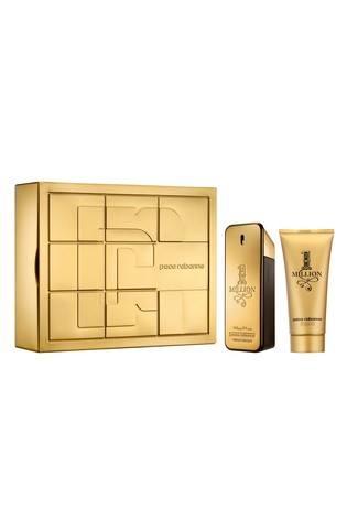 e7381f8c3ec4 Paco Rabanne 1 Million Eau de Toilette 100ml & Shower Gel Gift Set ...