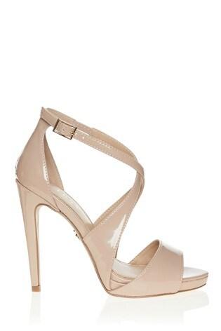 latest selection retro purchase original Lipsy Wide Fit Concealed Platform Heeled Sandals