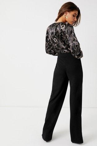 679a2cd62eec Boohoo Chain Print Bodysuit · Boohoo Chain Print Bodysuit ...