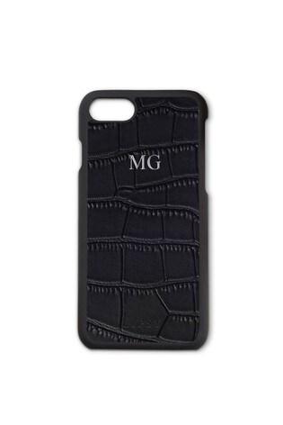 new styles 70d24 fb7f8 Buy Personalised Lipsy Black Mock Croc Phone Case By Koko Blossom ...