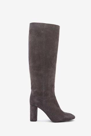 Buy Mint Velvet Grey Rachel Knee Length