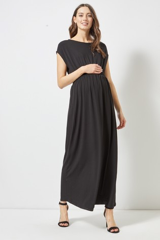c3937bf91c8 Buy Dorothy Perkins Shirred Jersey Maxi Maternity Dress from the ...
