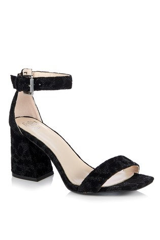 a8a707ae495 Faith Wide Fit Barely There Block Heel Sandal