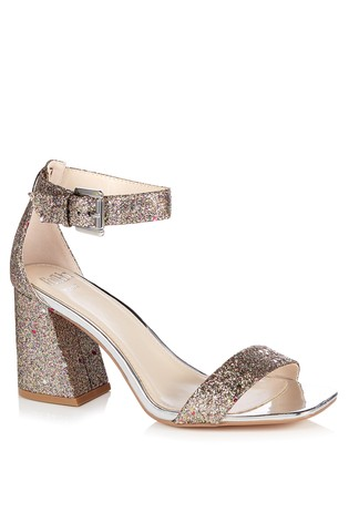 shop for best select for clearance big sale Faith Wide Fit Barely There Block Heel Sandal