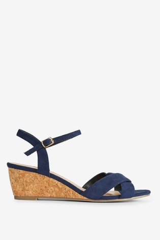 highly praised select for authentic 2019 original Dorothy Perkins Revel Wedge Wide Fit Sandals