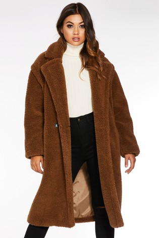 buy online preview of incredible prices Buy Quiz Teddy Bear Long Sleeve Coat from the Next UK online shop