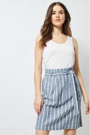 8bd8b30e4ece Buy Dorothy Perkins Tall Tie Waist Linen Skirt from the Next UK ...