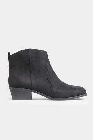 top-rated fashion how to orders new collection Yours Extra Wide Fit Casual Back Tab Ankle Boots