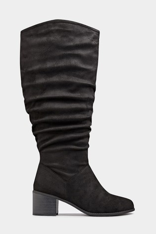 Lost Ink Wide Fit Stretch High heeled Over The Knee Boots  UK Size 3 New Boxed