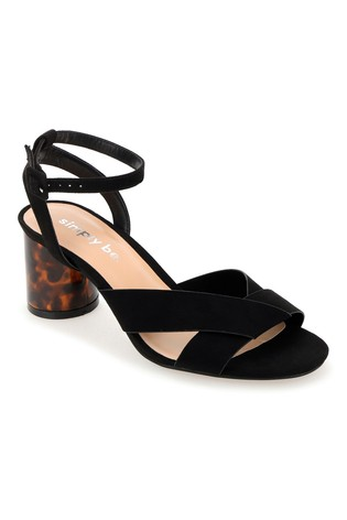 195bef49e49 Simply Be Wide Fit Ankle Strap Low Block Heel Sandals