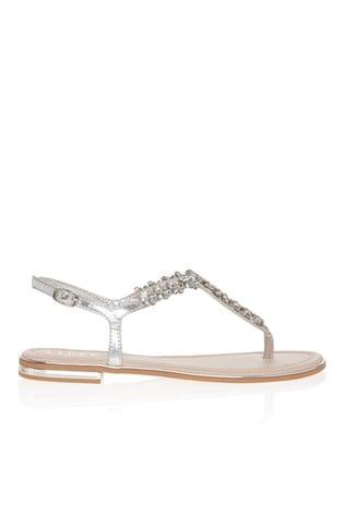 Buy Lipsy Wide Fit Jewel Flat Sandal