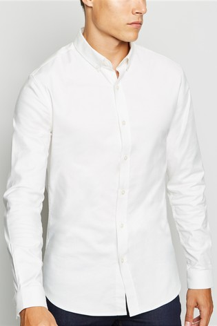 the cheapest outlet for sale super cute New Look Muscle Fit Oxford Shirt