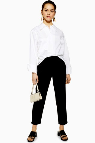 new styles new arrivals new arrivals Topshop Petite Cigarette Trousers