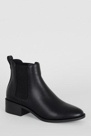 Buy New Look Leather Look Chelsea Boots