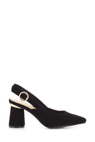 Buy Simply Be Wide Fit Slingback Almond