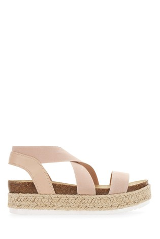 Extra Wide Fit Flatform Sandals
