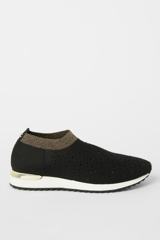 Buy Lipsy Knit Diamanté Trainer from