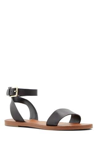 Aldo Wide Fit Flat Ankle Strap Sandal