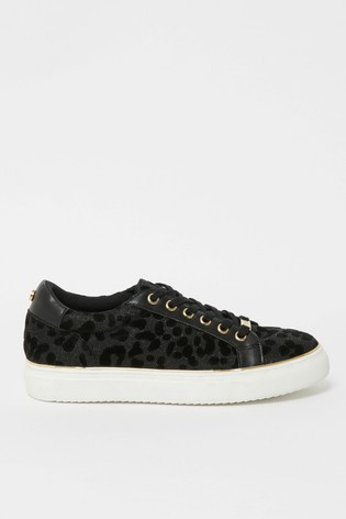 Buy Lipsy Flatform Lace Up Trainer from