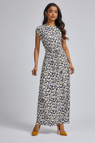 Corrisponde a trucco Decisione  Buy Dorothy Perkins Petite Daisy Roll Sleeve Maxi Dress from the Next UK  online shop