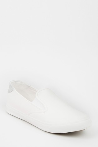 Buy New Look Wide Fit Slip-On Trainers