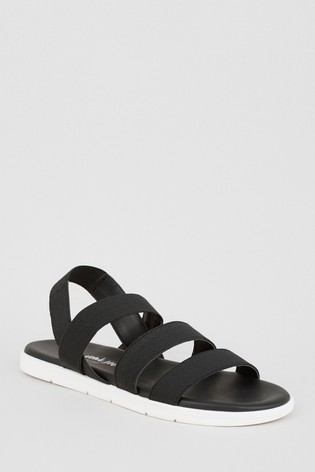 calcestruzzo Distribuzione accedere  Buy New Look Gunner 3-Band Elastic Sporty Sandal from the Next UK online  shop