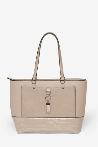 Dorothy Perkins Pocket Front Tote Bag