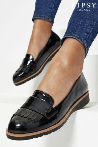 Buy Lipsy Wide Fit Wedge Loafer from