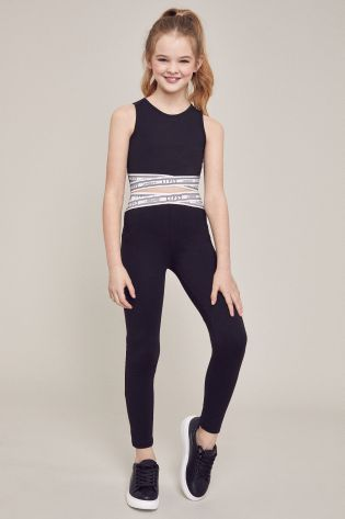 Buy Lipsy Crop Top And Legging Set From The Next Uk Online Shop