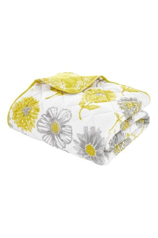 Banbury Floral Easy Care Bedspread by Catherine Lansfield