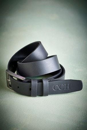 Personalised Matt Leather Belt