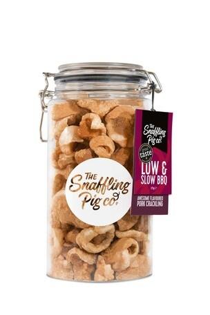 Snaffling Pig Low & Slow BBQ Pork Crackling Gift Jar 275g