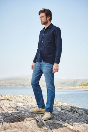 Black Coated Slim Fit Jeans With Stretch