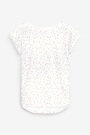 Animal Licence Mickey Mouse™ Curved Hem T-Shirt