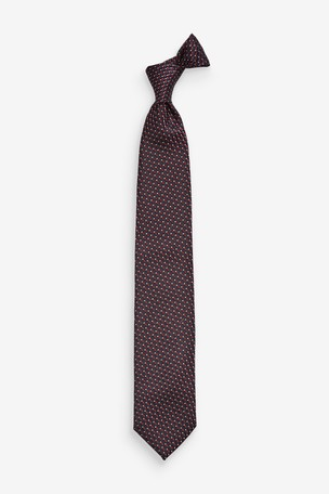 Navy/Burgundy Signature Made In Italy Pattern Tie