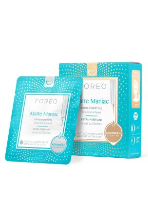 FOREO Matte Maniac UFO Activated Mask 6 pack
