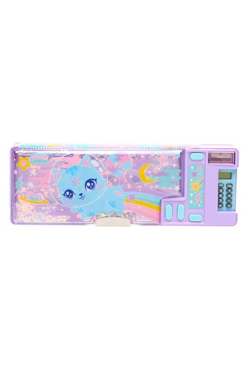 Smiggle Blue Far Away Pop Out Pencil Case