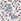 Ecru/Lilac Print
